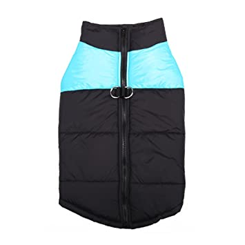 Haihuic Abrigo de Invierno para Perros, Clima frío, Chaleco cálido al Aire Libre,