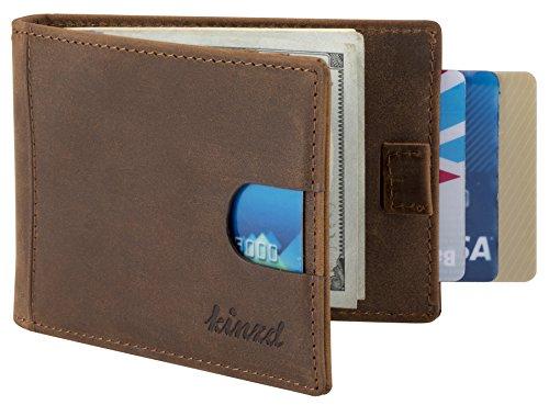 Kinzd Pocket Wallet Leather Blocking product image