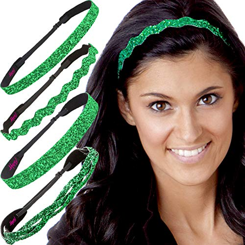 Hipsy Irish Green Hairbands St Patricks Day Accessories