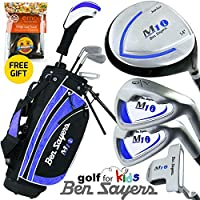 """""""NEW 2017"""" BEN SAYERS JUNIOR M1i BLUE COMPLETE GOLF SET 5-8 YEARS"""