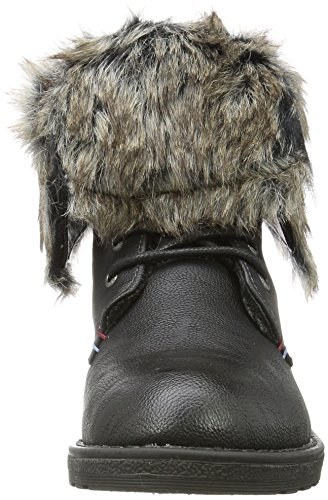 TOM TAILOR Damen 379990730 Stiefel Schwarz (Black)