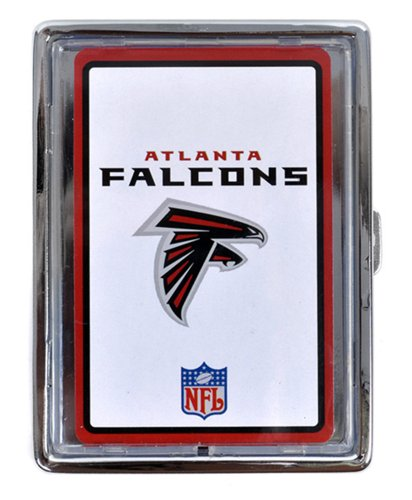 NFL Team Cigarette, Money or Card Holder (Silver, Falcons) ()