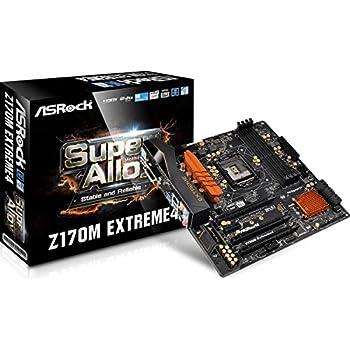 ASRock MicroATX DDR4 LGA 1151 Motherboard Z170M EXTREME4