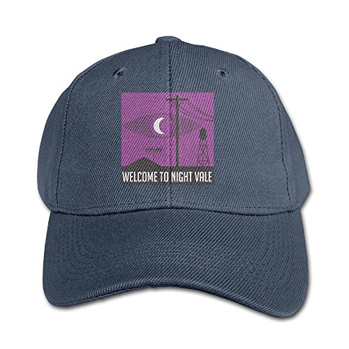 welcome-to-night-vale-youth-unisex-adjustable-low-profile-plain-cap-in-4-colors