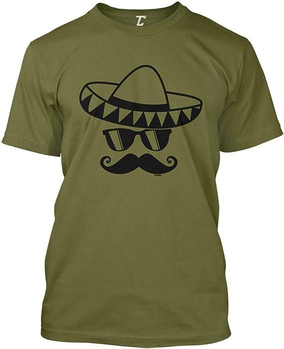 Cinco De Mayo Mustache Face - Sombrero Men's T-Shirt