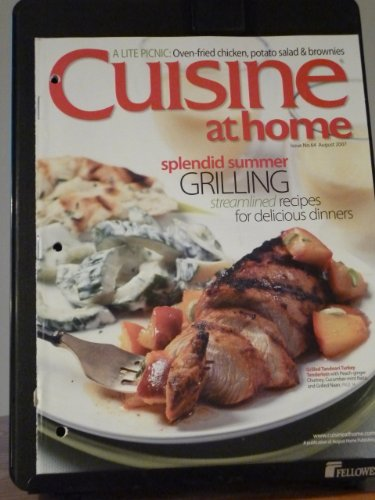 Cuisine at Home Issue No. 64 August 2007