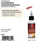 Salon Pro 30 Sec LACE WIG BOND CONDITIONING REMOVER with Vit. E Oil & Argan Oil (2 oz.)