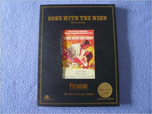 Gone With The Wind Movie Script Sidney Howard 9781566933001