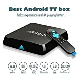 [ New Updated ] 2017 GooBang Doo M8S-II Android 6.0 TV Box , 2GB+8GB Amlogic S905X 64 Bits Quad Core and Supporting 4K (60Hz) Full HD/ H.265 /Bluetooth 4.0/WiFi 2.4GHz&5.0GHz/1000M LAN ¡