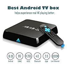 [ New Updated ] 2017 GooBang Doo M8S-II Android 6.0 TV Box , 2GB+8GB Amlogic S905X 64 Bits Quad Core and Supporting 4K (60Hz) Full HD/ H.265 /Bluetooth 4.0/WiFi 2.4GHz&5.0GHz/1000M LAN