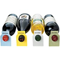Wine Enthusiast 100 Count Color Coded Wine Bottle Tags