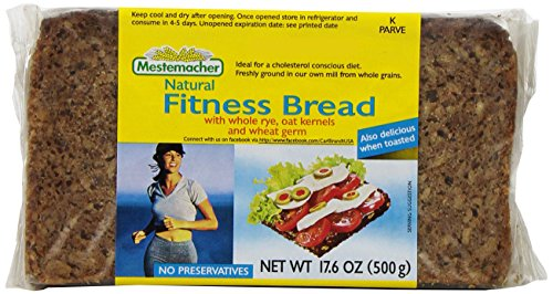 Mestemacher Bread, Fitness, 17.6-Ounce Packages (Pack of 12) by Mestemacher