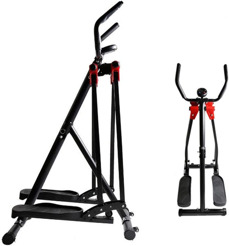 Home Multifunction Cardio Training Exercise Equipment Right Swing Trainer Exercise Home Fitness Exercise Stepper with Handlebars DS Indoor Work Out Stepping Machine
