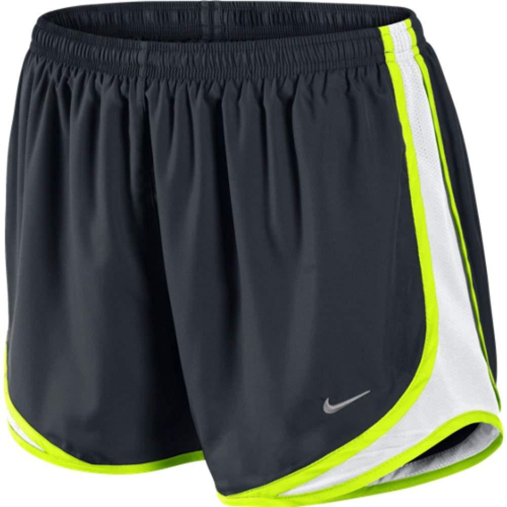Nike Tempo Track 3.5'' Women's Athletic Short (Black/White/Volt/Matte Silver, X-Small)