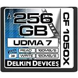 Delkin DDCF1050256G 256GB Cinema 1050X UDMA 7 CompactFlash Memory Card