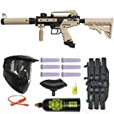 3Skull Tippmann Cronus Tactical Paintball Gun Mega Set - Tan