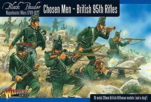 Chosen Men Napoleonic British 95th Rifles Miniatures