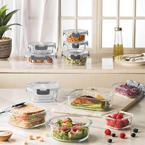 Get 15% off a 24-piece storage containers set