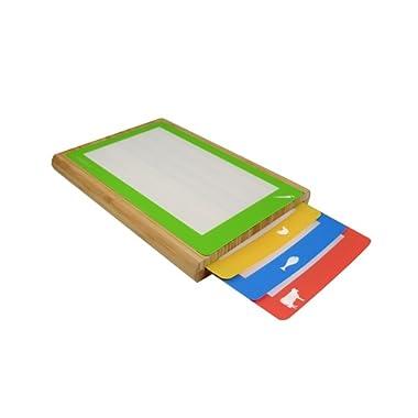 Casabella Silicone Cutting Board, Multicolor, Set of 4