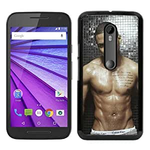 Motorola Moto G 3rd Generation Case ,Trey Songz black Moto G 3rd Gen Cover Fashionable And Unique Custom Designed Phone Case