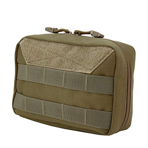 OUTAD Outdoor Portable Medical Travel Bag Multifunctional Waist Pack Tactical Case Emergency Survival Bag for Camping Climbing Khaki, Germany