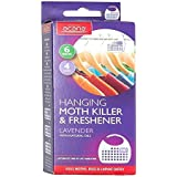 2x Acana 2675-1 Hanging Moth Killer and Lavender Freshener - White by Acana