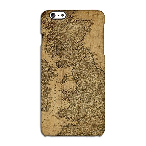 Vintage Map of Britain Deflector Back Case for Apple iPhone 6 6S Plus