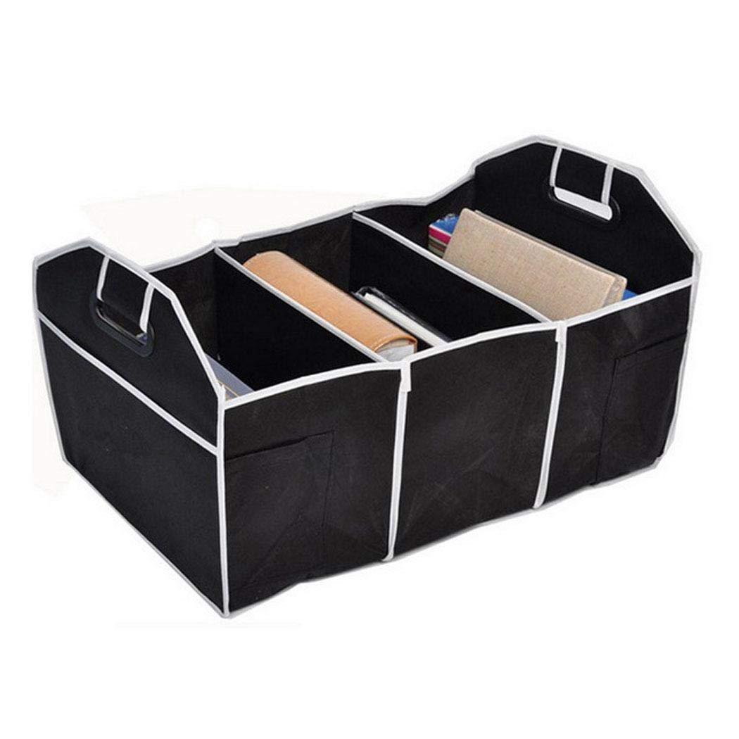 plunge Caja de Almacenamiento Multifuncional Interior del contenedor de Cargo del cami/ón del Organizador del Coche Organizadores para Coche