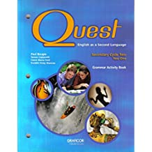 Quest English as a Second Language Grammar Activity Book, Secondary Cycle Two Year One (English as a Second Language)