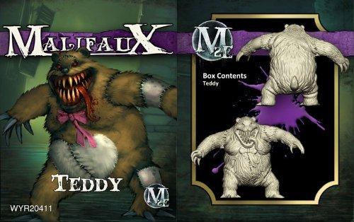 Malifaux 2E Neverborn Teddy (1 figure, wyr20411) by Wyrd Miniatures