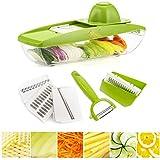Mandoline Slicer Vegetable Potato Peeler - Vegetable Slicer...