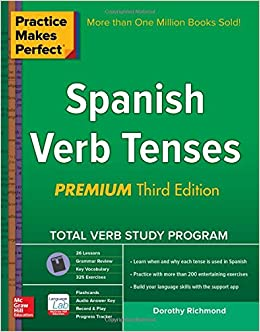 Book Practice Makes Perfect Spanish Verb Tenses, Premium 3rd Edition (Practice Makes Perfect Series)