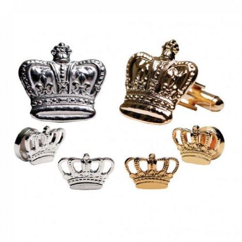 Mardi Gras Crowns Gold Trim Tu