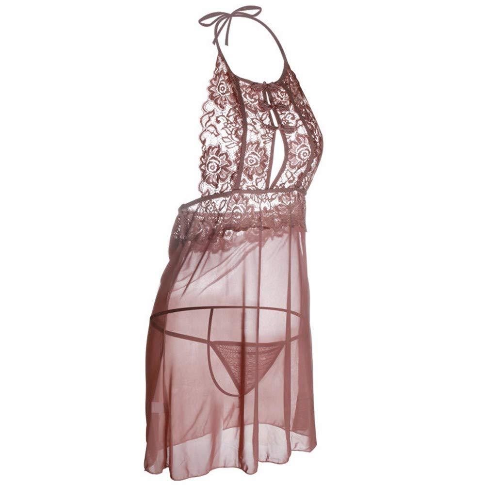 Sexy Liguero De Encaje Mujeres Gasa, Transparente, Pijamas/Las Mujeres Encaje Sexy Ropa Interior Vaciado,Black,F 8e80da
