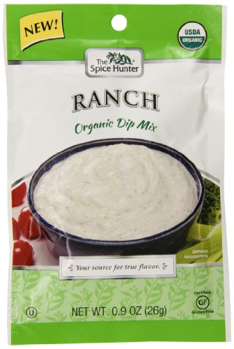 Spice Hunter Organic Ranch Dip Mix, 0.9 Ounce (Pack of - Mix Ranch Free Gluten