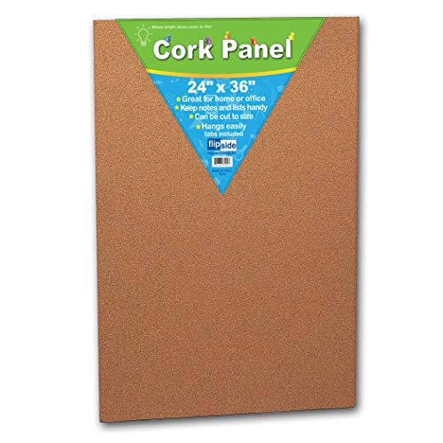 Panel Cork Dark - Flipside FLP37024BN Cork Panel, 24