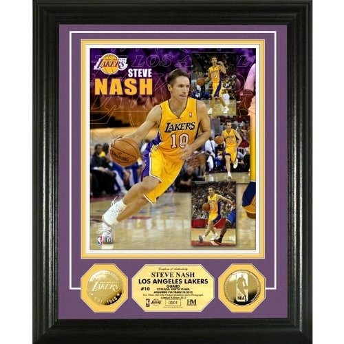 Steve Nash Gold Coin Photo Mint from Highland ()