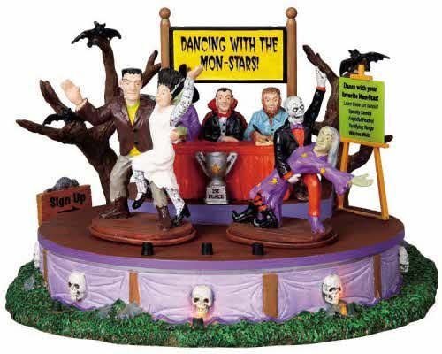 Lemax Spooky Town Dancing With The Mon-Stars # 94957 -