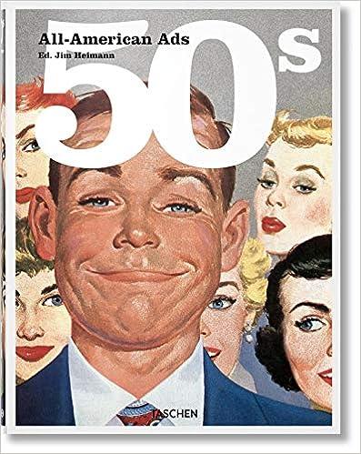 All-American Ads 50s : Edition en français-anglais-allemand-espagnol