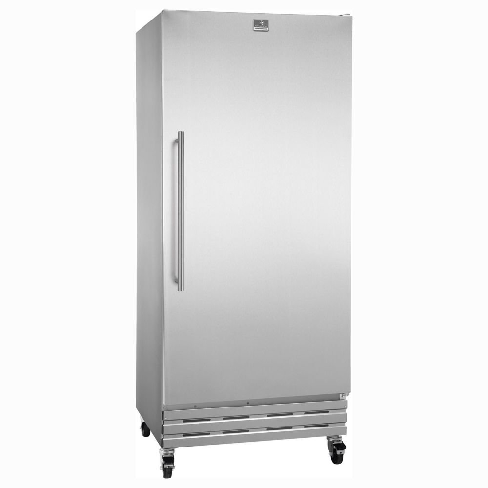 Com Kelvinator Kcbm180fqy 18 Cubic Feet Reach In Freezer With Casters Kitchen Dining