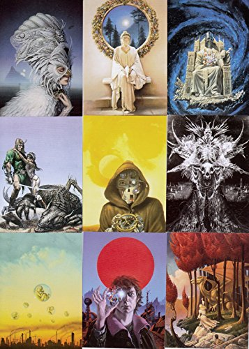 MICHAEL WHELAN SERIES 2 OTHER WORLDS 1995 COMIC IMAGES BASE CARD SET OF 90 FA