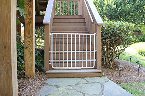 Cardinal Gates Outdoor Gate - White