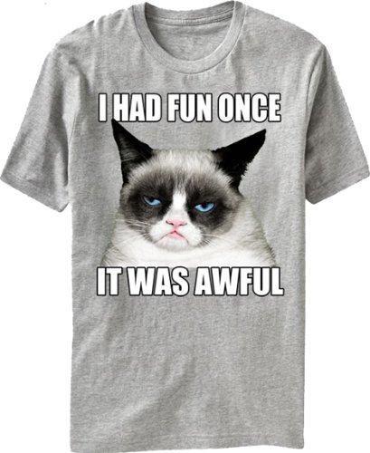 Grumpy Cat Awful Fun T-Shirt