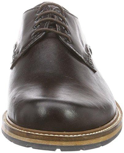 Clarks Arton Walk, Herren Derby Schnürhalbschuhe Braun (Dark Brown Lea)