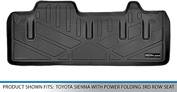 Husky Liners Fits 2011-19 Toyota Sienna without Power Folding 3rd Row Seats Cargo Liner