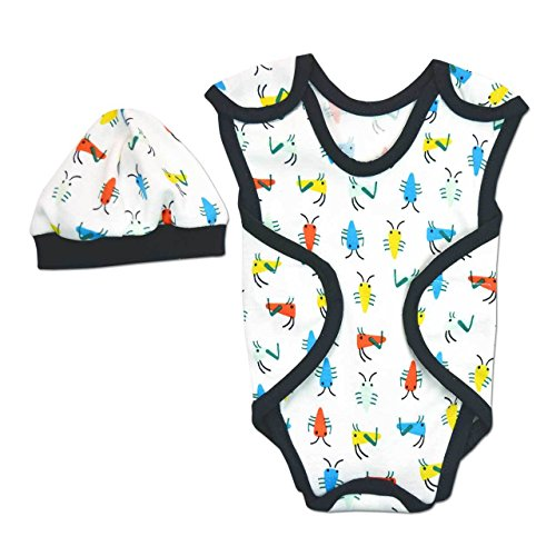 Perfectly Preemie NIC-Suit - NICU Friendly (A Bug's Life White, Preemie (3-6lbs))