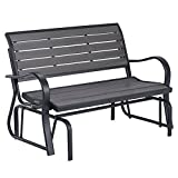 Lifetime 60276 Glider Bench, Harbor Gray