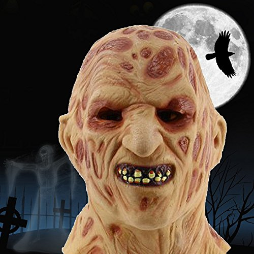 New Halloween Party Wacky Mask Cosplay Mask Terror Horse Halloween Head latex Rubber Mask Costume Theater Prop Party Horse Mask