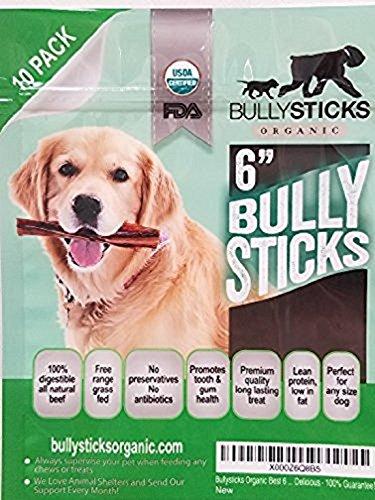 Bullysticks Organic Bully Sticks Dogs product image