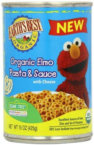 Orgánica Mini-Meal, Elmo Pasta & salsa con queso, 15 onzas (paquete